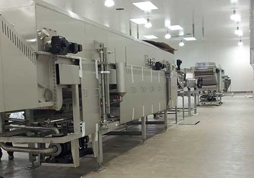 INSTALLATION OF PRODUCTION LINES