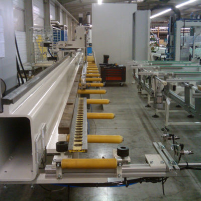 PVC profile power supply